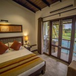 Deluxe Room Balcony View Overlooking Paddy Field