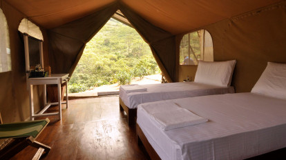 Luxury Twin tents