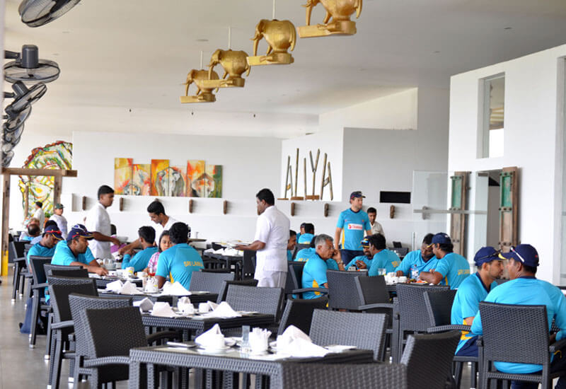 Sri Lanka Cricket choses Aliya as their preferred hotel in Dambulla