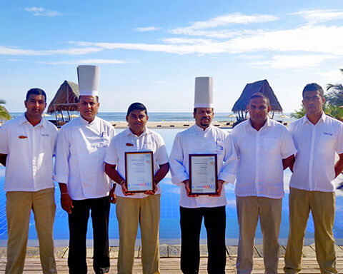 Maalu Maalu Resort & Spa and Aliya Resort and Spa honored with ISO and HACCP certifications